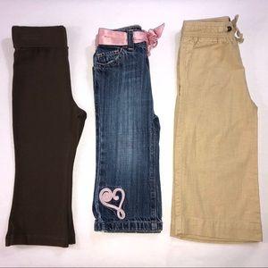 Toddler Girls 18-24 M Yoga Jeans Linen Pants Lot